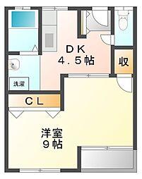 メゾン甲子園六番町[5階]の間取り