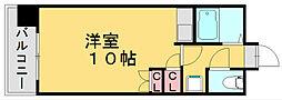 Kステーション八田[4階]の間取り