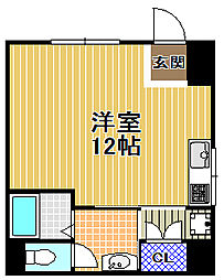 KATADAハイツ[1階]の間取り