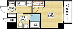 エステムコート新大阪VIIIレヴォリス[4階]の間取り