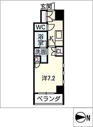 IARIM栄東[7階]の間取り