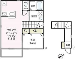 [タウンハウス] 神奈川県横浜市西区戸部町2丁目 の賃貸【/】の間取り
