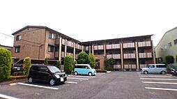 埼玉県春日部市一ノ割4丁目の賃貸アパートの外観