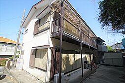 青木アパート[2階]の外観