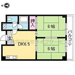 HOUSE S&Y[306号室]の間取り
