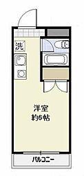 埼玉県さいたま市浦和区岸町3丁目の賃貸マンションの間取り