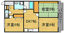 泉北高速深井駅徒歩6分[303号室]の間取り