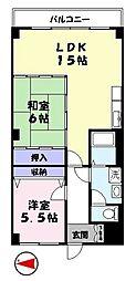 サンシャイン21[2階]の間取り