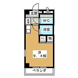 メゾンA4[2階]の間取り