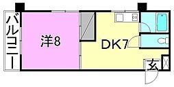 高須賀ハイツ[306 号室号室]の間取り