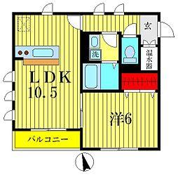 Hirano Homes[2階]の間取り
