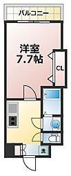 ラグゼ新大阪イーストI[3階]の間取り
