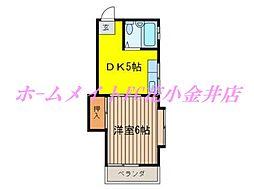 コ−ポ88[2階]の間取り