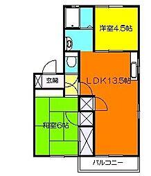 湘南ハウス[2階]の間取り