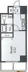 CASSIA天王寺東(旧名称:フェニックスレジデンス桑津)[1008号室]の間取り