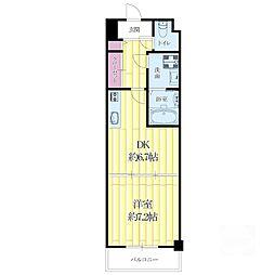 センターポイント吉志部[2階]の間取り