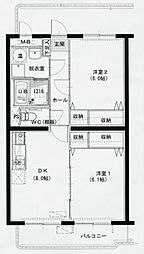 BM156[2階]の間取り