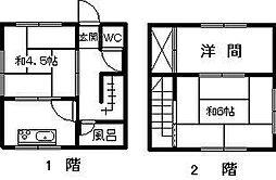 土山アパート[103号室]の間取り