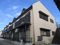 千葉県千葉市稲毛区長沼町の賃貸アパートの外観