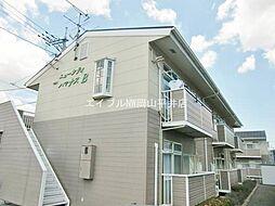 岡山県岡山市東区広谷丁目なしの賃貸アパートの外観
