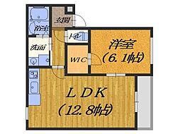 (仮称)フジパレス堺市西区鳳南町 3階1LDKの間取り