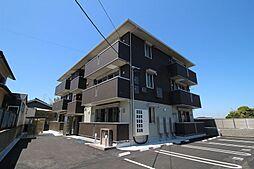 山口県下関市山の田西町の賃貸アパートの外観