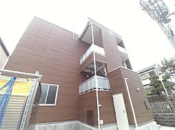 兵庫県神戸市東灘区魚崎中町3丁目の賃貸アパートの外観