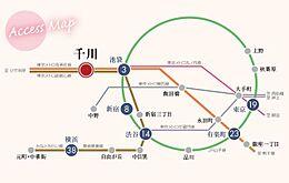 東京メトロ有楽町線「千川」駅徒歩4分  都心へのアクセス良好です