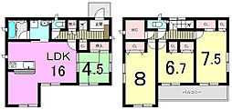 谷山中央6丁目 新築戸建