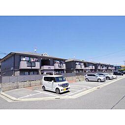 奈良県奈良市松陽台4丁目の賃貸アパートの外観