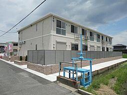 愛知県海部郡大治町大字長牧字中道の賃貸アパートの外観