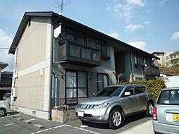 岡山県都窪郡早島町若宮の賃貸アパートの外観