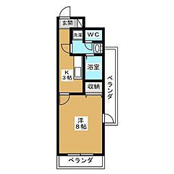 メゾン・ヴィーナス[4階]の間取り