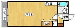 パレ北白川 佐わらび[3階]の間取り