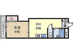 インペリアルメゾンフィールド[2階]の間取り