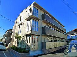 東京都足立区一ツ家2丁目の賃貸アパートの外観