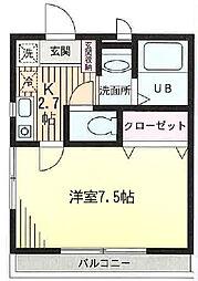 アーバンハイツ横浜ウエストヴァレー 102号室[102号室]の間取り