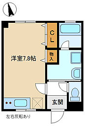 TBハイツ1 305[3階]の間取り
