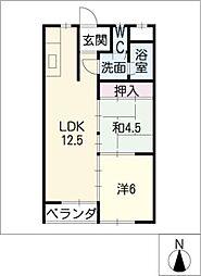 コーポ鈴木[3階]の間取り