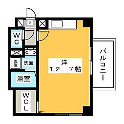 ジョイ桜本町[3階]の間取り