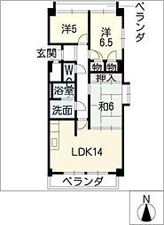 REFLEX[2階]の間取り