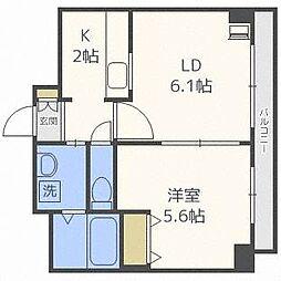 ドマーニプレイス[7階]の間取り