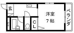 NAO三ノ瀬[401号室号室]の間取り