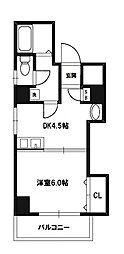 新大阪レジデンス[6階]の間取り