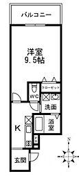 [タウンハウス] 大阪府大阪市東住吉区田辺5丁目 の賃貸【/】の間取り