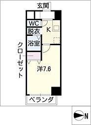 ステージア黄金[2階]の間取り