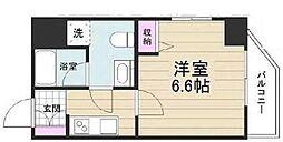 京成押上線 京成立石駅 徒歩10分の賃貸マンション 3階1Kの間取り