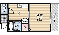 FORUM福島・玉川[3階]の間取り