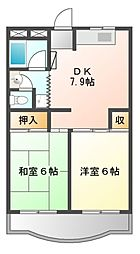 ベルハイム本郷台[3階]の間取り