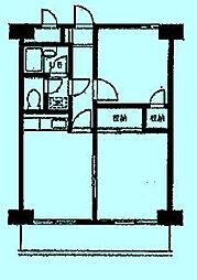 リッツプラザ[2階]の間取り